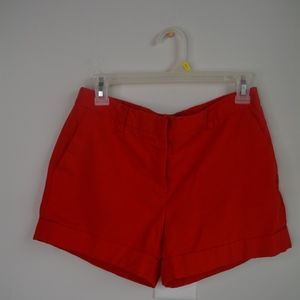 Forever 21 Red Dress Shorts, M